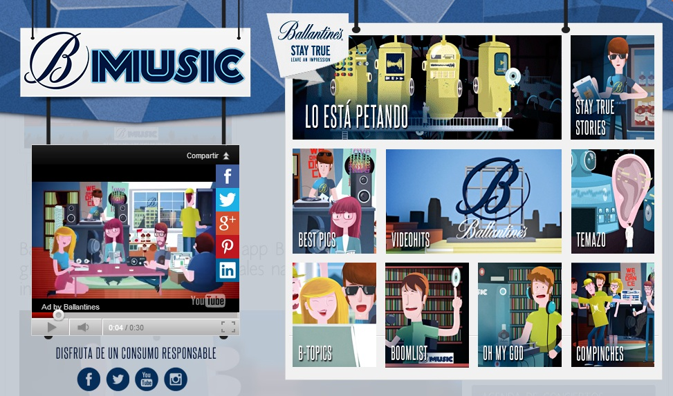 BMusic by Ballantine's